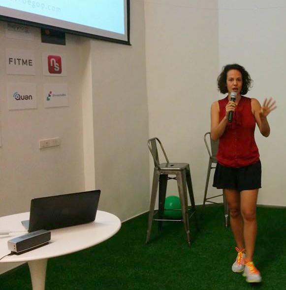 Presentatie in Launchpad Bangkok