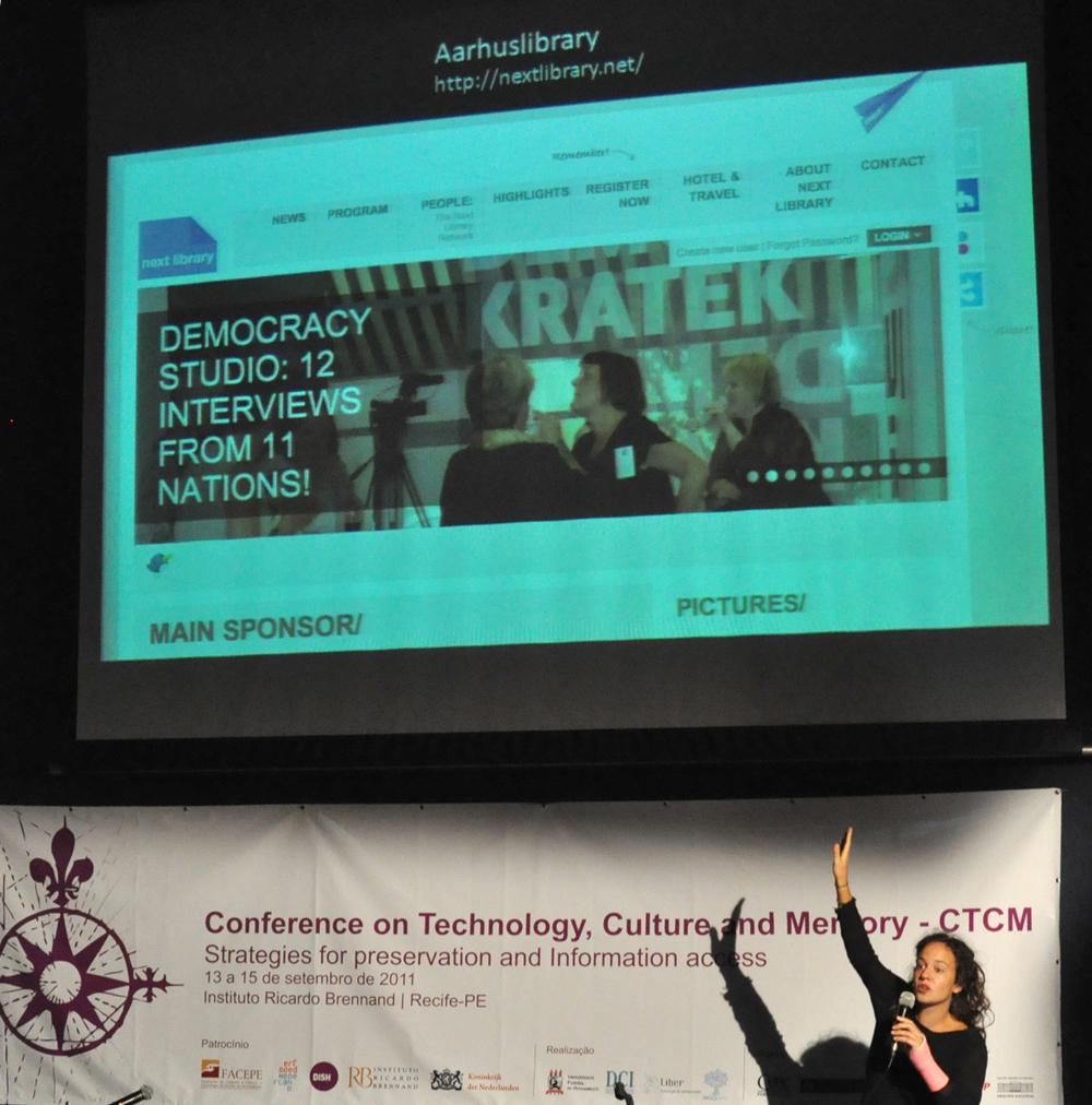 Presentatie Universidade de Pernambuco, Recife, Brasil
